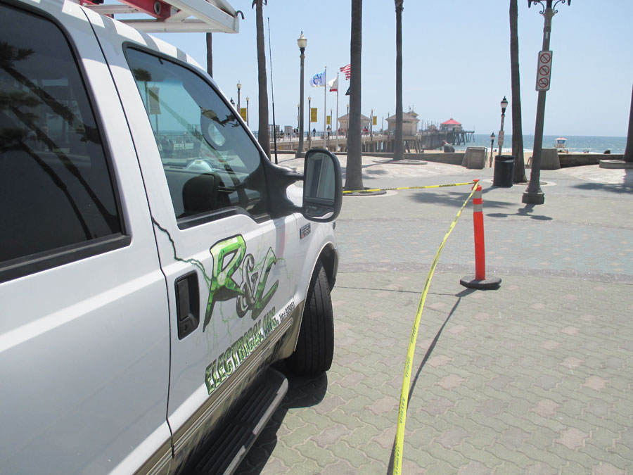 Contracting Working At The Beach Any Location Needed Electrical Construction, call us at: 714-412-7614.